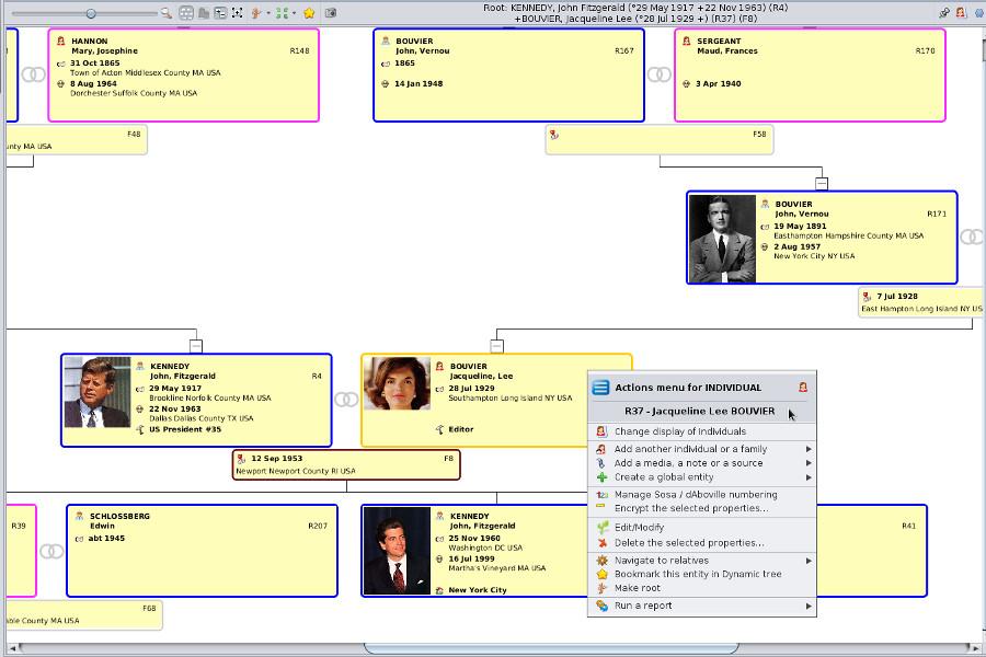ancestris free genealogy software